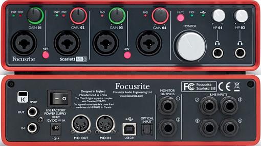 USB аудио интерфейс FOCUSRITE Scarlett 18i8