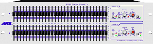 Графический эквалайзер ARX EQ260