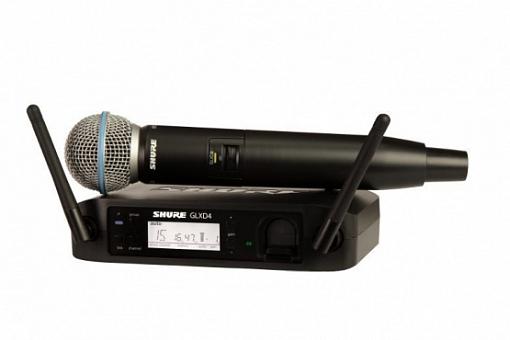 Радиосистема SHURE GLXD24E/SM86 Z2 2.4 GHz