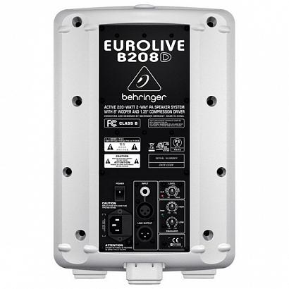 Активная акустическая система BEHRINGER B 208D-WH EUROLIVE