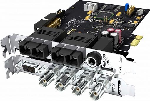 Аудио интерфейс RME HDSPe MADI FX