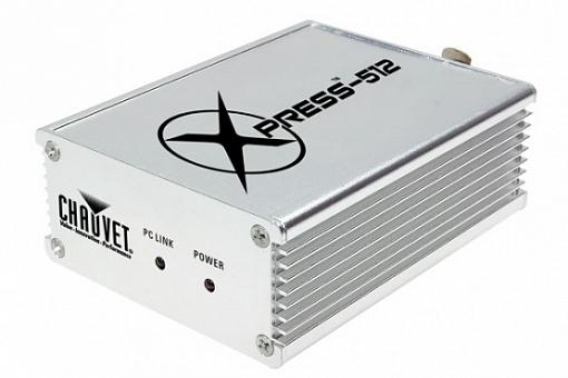 Программа управления светом CHAUVET Xpress 512