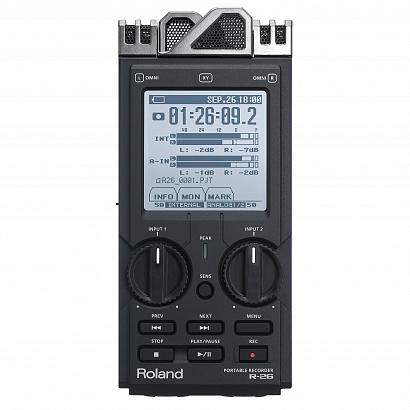 Портативный рекордер ROLAND R-26