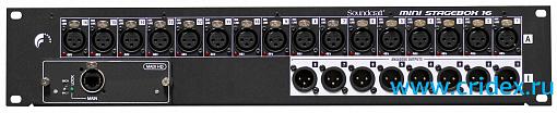 Микшер SOUNDCRAFT MSB-16 Cat5 Mini Stagebox 32 (3U)