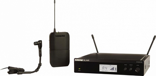 Радиосистема SHURE BLX14RE/B98 K3E 606-638 MHz