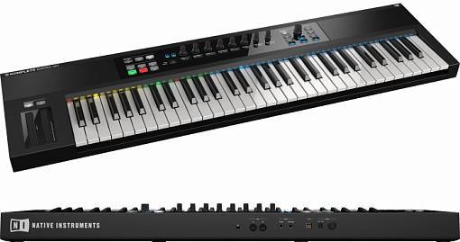 MIDI-клавиатура Native Instruments Komplete Kontrol S61