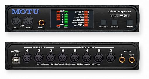 Аудиоинтерфейс MOTU Micro express (USB)