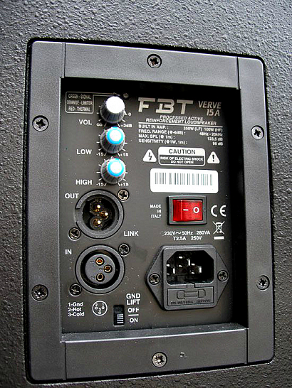 Активная акустическая система FBT J 15A