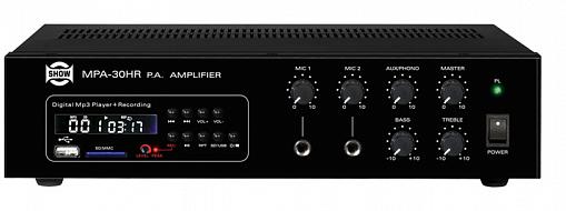 Трансляционный микшер-усилитель SHOW MPA30HR
