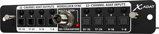 Аудио интерфейс для цифрового микшера Х32 BEHRINGER X-ADAT