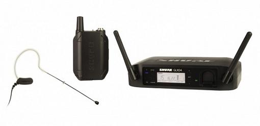 Радиосистема SHURE GLXD14E/MX53 Z2 2.4 GHz