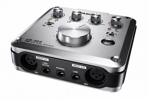 USB аудио/MIDI интерфейс TASCAM US-322