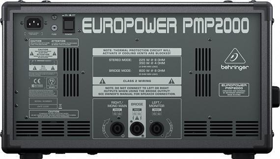 Активный микшерный пульт BEHRINGER EUROPOWER PMP2000