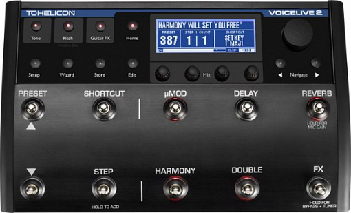 Процессор эффектов TC HELICON VoiceLive 2 with VLOOP