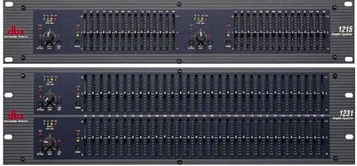 Эквалайзер DBX 1215
