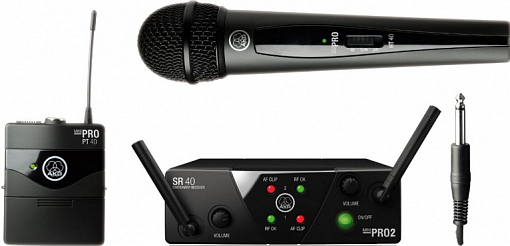 Радиосистема AKG WMS40 Mini2 Mix Set BD US45A/C (660.700&662.300)
