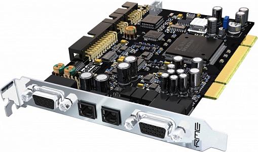 Аудио интерфейс RME HDSP 9632