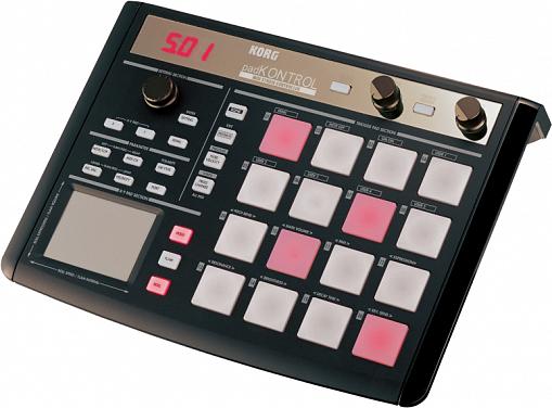 Контроллер KORG PADKONTROL KPC-1 BK