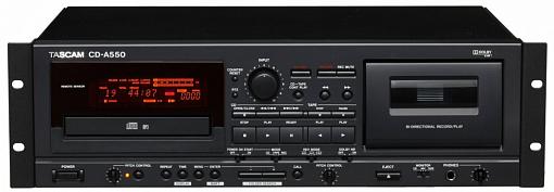 CD/CC-проигрыватель TASCAM CD-A550