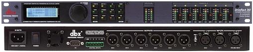 Акустический процессор DBX DriveRack 260