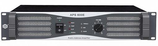 Трансляционный усилитель мощности SHOW APS600E