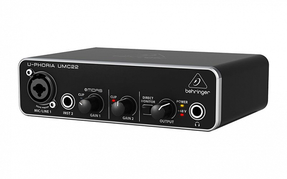 Аудиоинтерфейс BEHRINGER UMC22