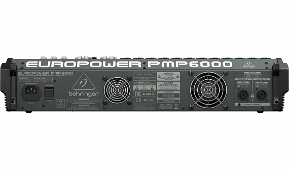 Активный микшерный пульт BEHRINGER EUROPOWER PMP6000