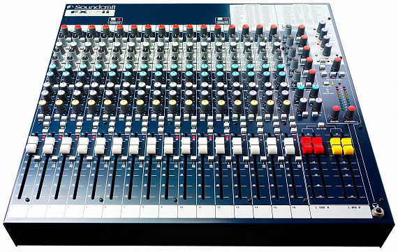 Микшерный пульт SOUNDCRAFT FX16ii